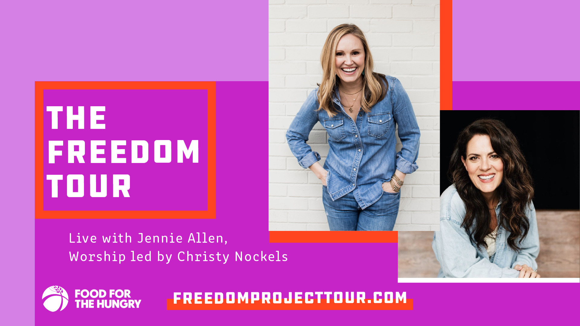 Freedom Tour with Jennie Allen & Christy Nockels