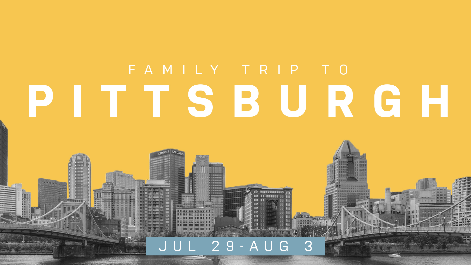 Pittsburgh Family Trip